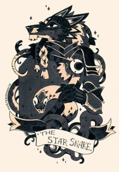The Star Snake by morteraphan