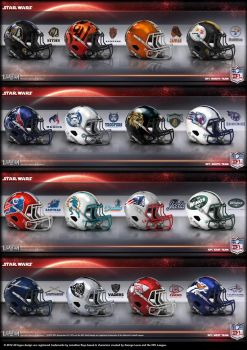 Intergalactic Football League AFC by uxorious