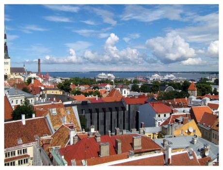 Roofs of Tallinn by Artemios