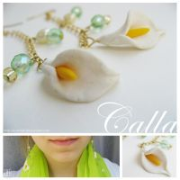 Calla Earrings by Arahiriel