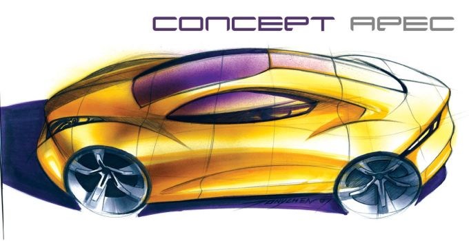 Concept Apec side angle by TonyWcK
