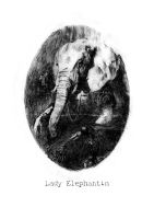 Lady Elephantin by croovman