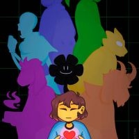 UNDERTALE: One Year Anniversary by loopusOMG