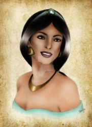 Jasmine in Color by madmoiselleclau
