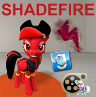(DL) Shadefire by Out-Buck-Pony