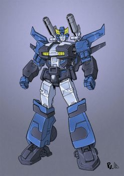 Bluestreak concept colors low res by BDixonarts