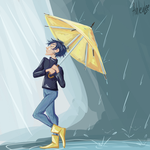 Rainy days are in the past by AhleuLee