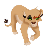 Shira Lioness (oc) by Sky-thepony65