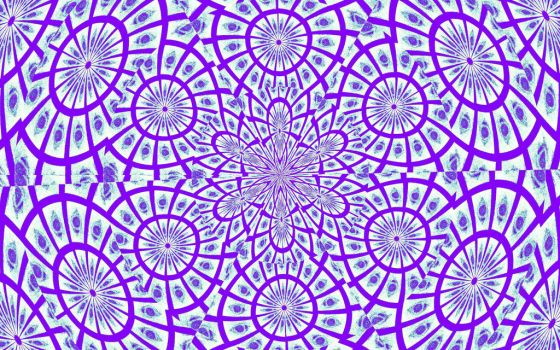 violet_kaleidoscope by AnnamariaBeatrice