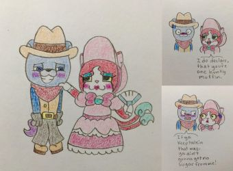 Cowboy and Southern Belle by TheSingettesRBack
