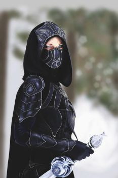 Female Assassin by AndyDragonPark