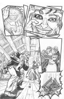 Joker and Harley Go Mad Pencils by Hominids