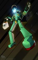 FLCL - Lord Canti by DarkKenjie