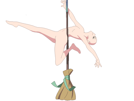 I Work This Broom Base by squishe-pie