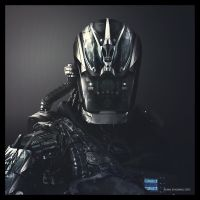 Futuristic Soldier by bluesey