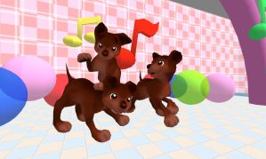 MMD Newcomer: Brown Puppy by PiosanK