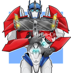 Optimus Prime by Orion-Cross