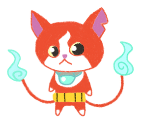 YO-KAI WATCH - Jibanyan by Shadow-Hedgehog7