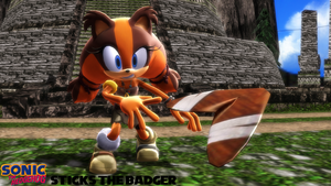 (MMD Model) Sticks the Badger Download by SAB64