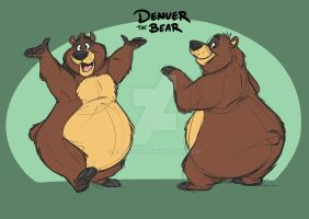 Denver the Bear by Eligecos