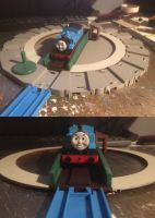 Bachmann/Tomy Turntable Conversion by GBHtrain