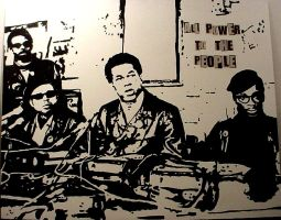 black panthers by chrispjones