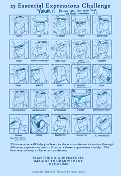 MEME: Another 25 Expressions by BechnoKid
