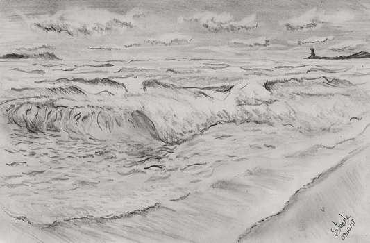 Seascape practice by SulaimanDoodle