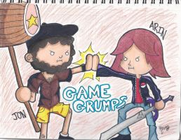 WE ARE THE GAME GRUMPS by RageTheHedgehog