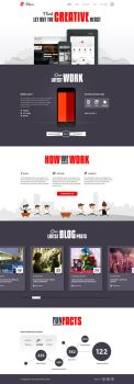 Altair - Free PSD template by xkaarux