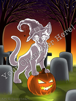 Halloween Spirit - YCH! OPEN by sassyheart-adopts