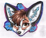 Mini Badge-Kashmere by Stray-Sketches