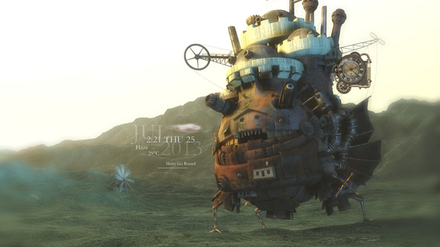 Howl's Moving Castle by whimsy3sh