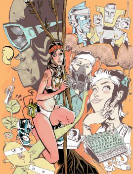 Funky Roots by JimMahfood-FoodOne