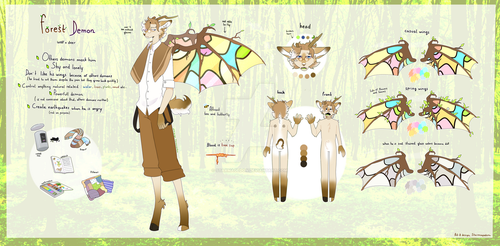 Forest demon Adoptable AUCTION [OPEN]