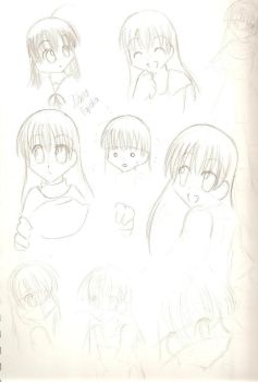 OHSHC Nana-chan doodles by OC-Ouran-Hosts