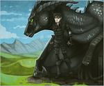 The Boy and His Dragon by Stitchy-Face