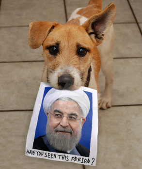 Have you seen Hassan Rouhani ? by chiyaqadri