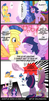 Patreon Reward:The Magic of Pregnancy Page 1 by Rated-R-PonyStar