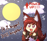 Super Moon by miwol
