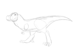 Dino Sketch by TropicaIDeer