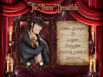 [The Penny Dreadfuls]: Vahan Saroyan by b0409d