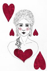 Queen of Hearts by Lucony