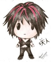 Sakito the World Chibi by ayumimasunaga