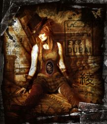 Steampunk Doll by Amazon-Butterfly