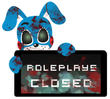 Toy Bonnie Roleplays Closed Stamp by InkCartoon
