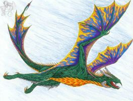 Poison Wyvern by R-Eventide