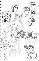 Transformers Animated sketch-1 by MSipher