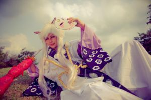 Tamazuki of the Inugami-gyoubu by liberifatalis