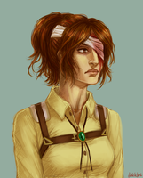 Commander Hanji Zoe by Dinklebert